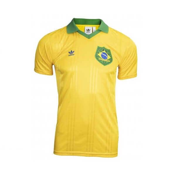 Camiseta Brasil Adidas Originals Fans ed especial torcida brasileira copa e olimpíadas