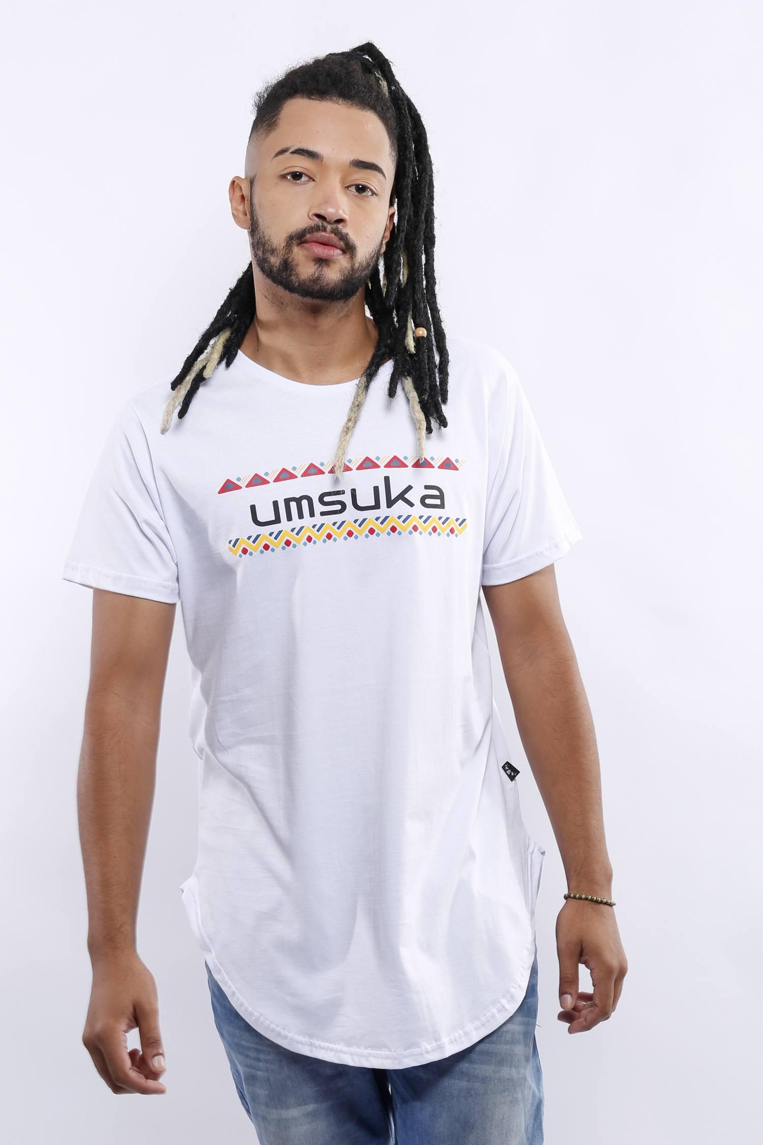 CAMISETA UMSUKA LONGLINE CORES UNISSEX
