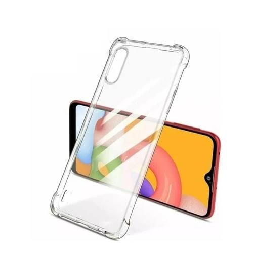 Capa Samsung Galaxy A01 Anti Impacto Transparente