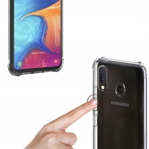 Capinha De Celular Transparente Samsung A20s 6.5 Anti Shock