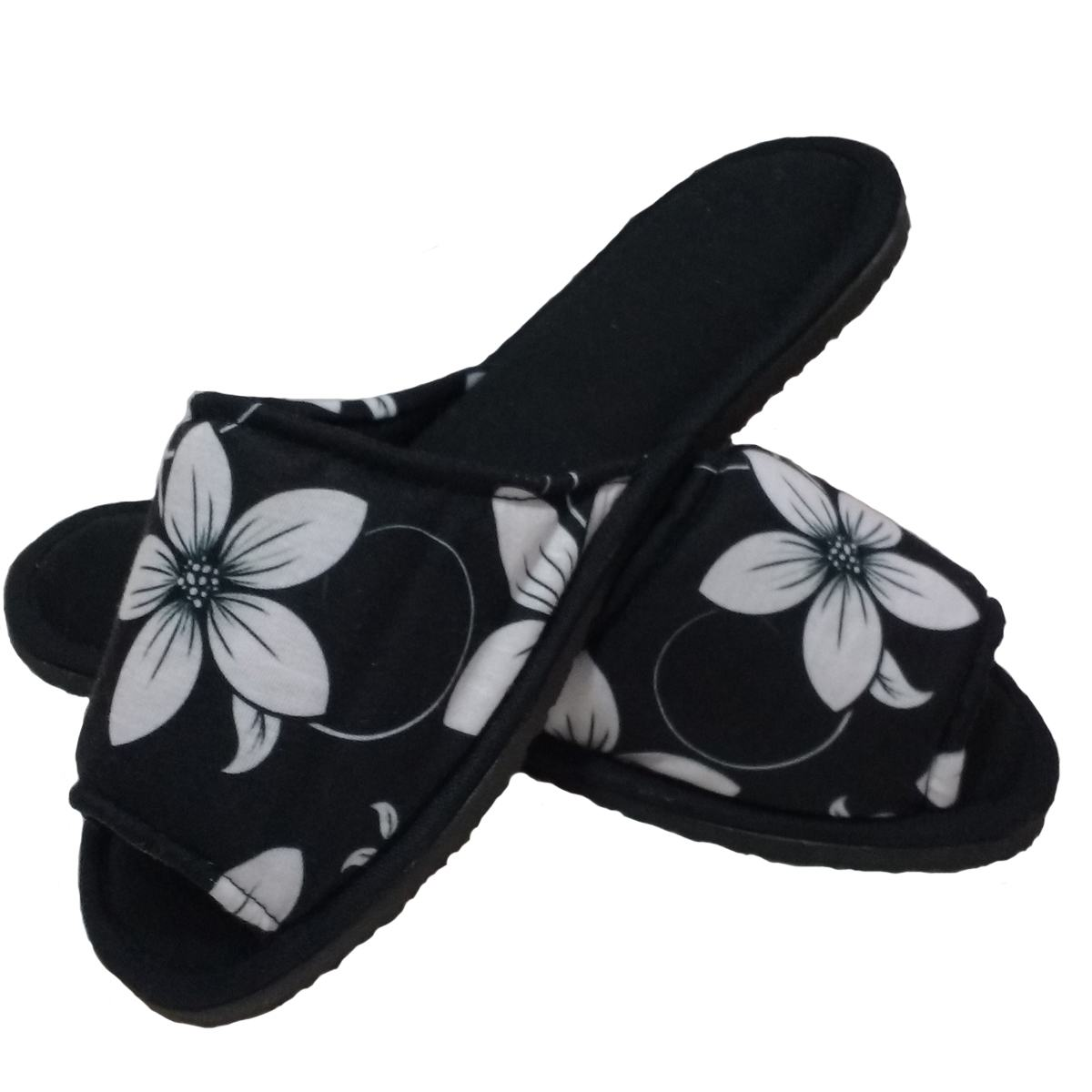 Chinelo de Quarto Aberto Feminino Floral cod 19