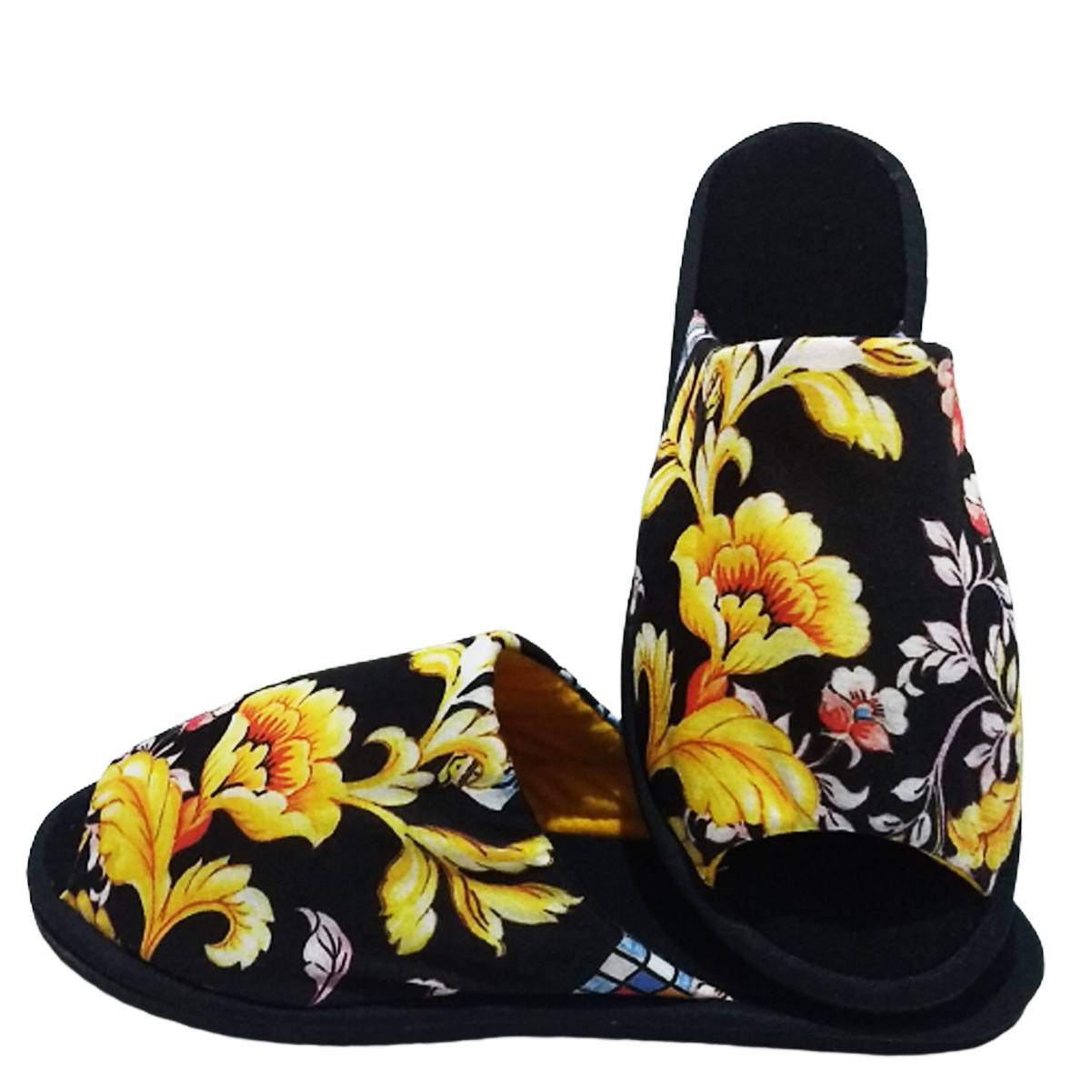 Chinelo de Quarto Aberto Feminino Floral cod 26