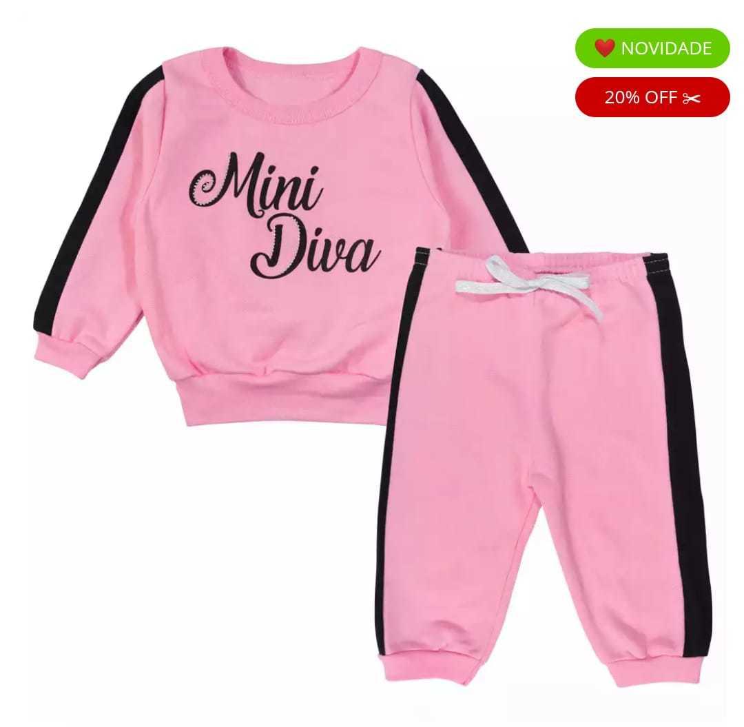 Conjunto de Moleton Mini Diva