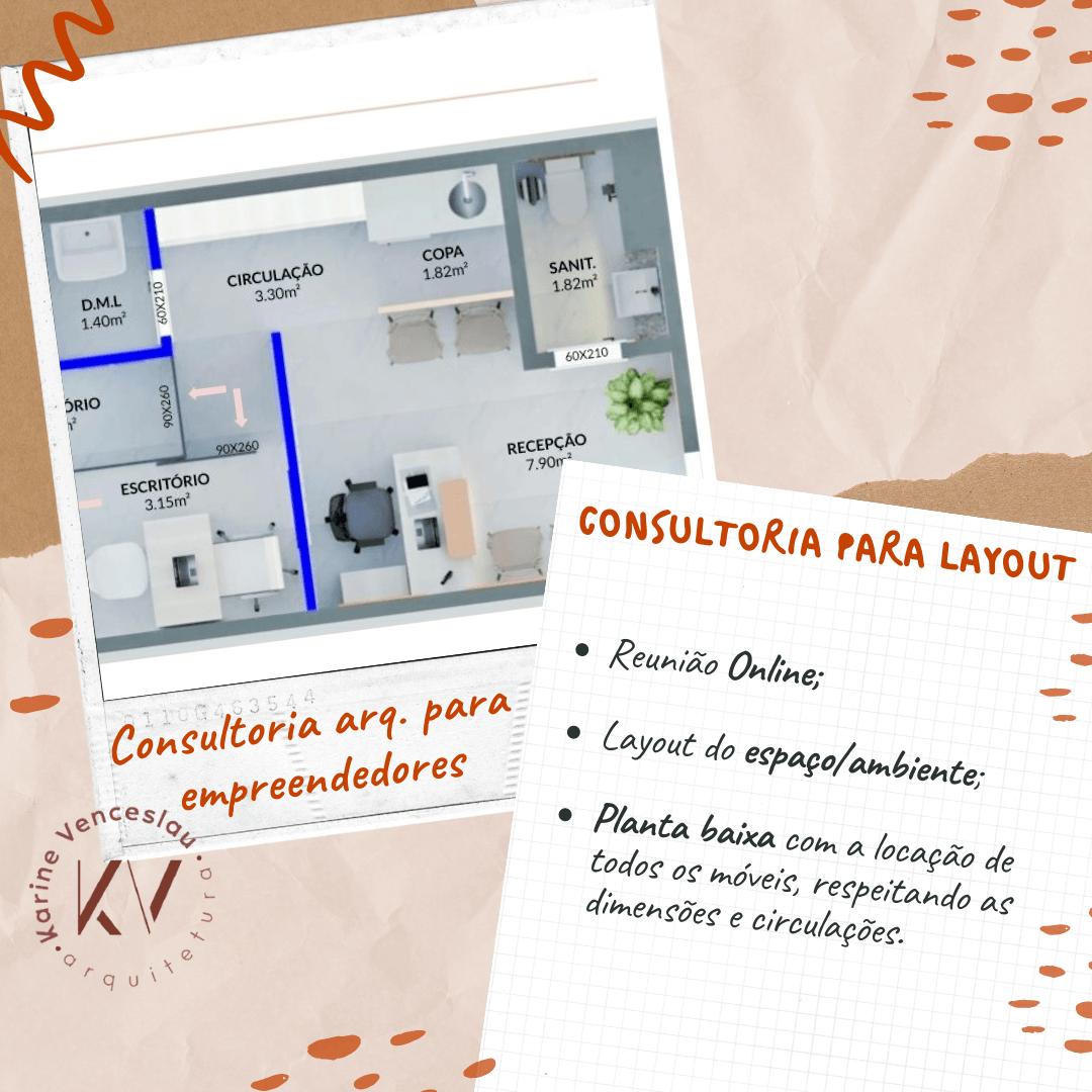Consultoria Arquitetura - Layout