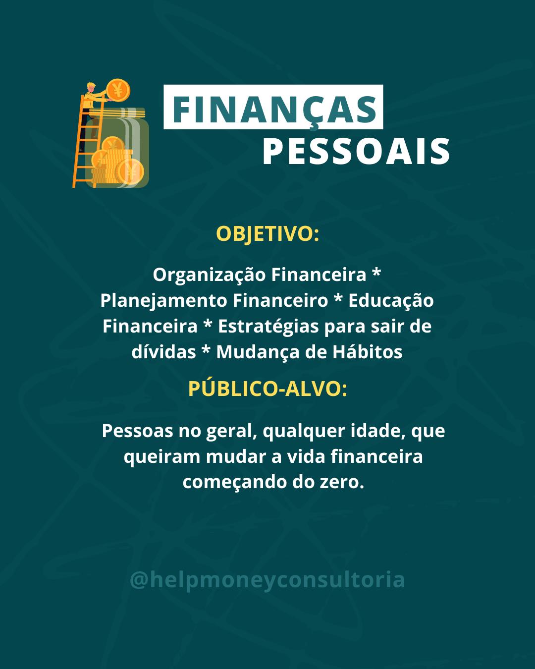 Consultoria Finanças Pessoais