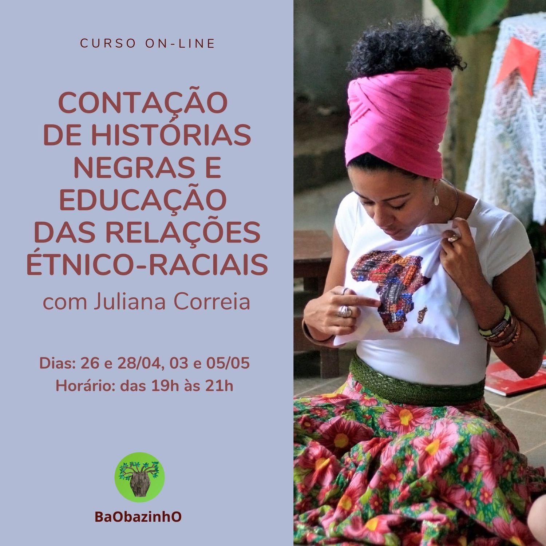 Curso Contação de Histórias Negras e Educação das Relações Étnico-raciais