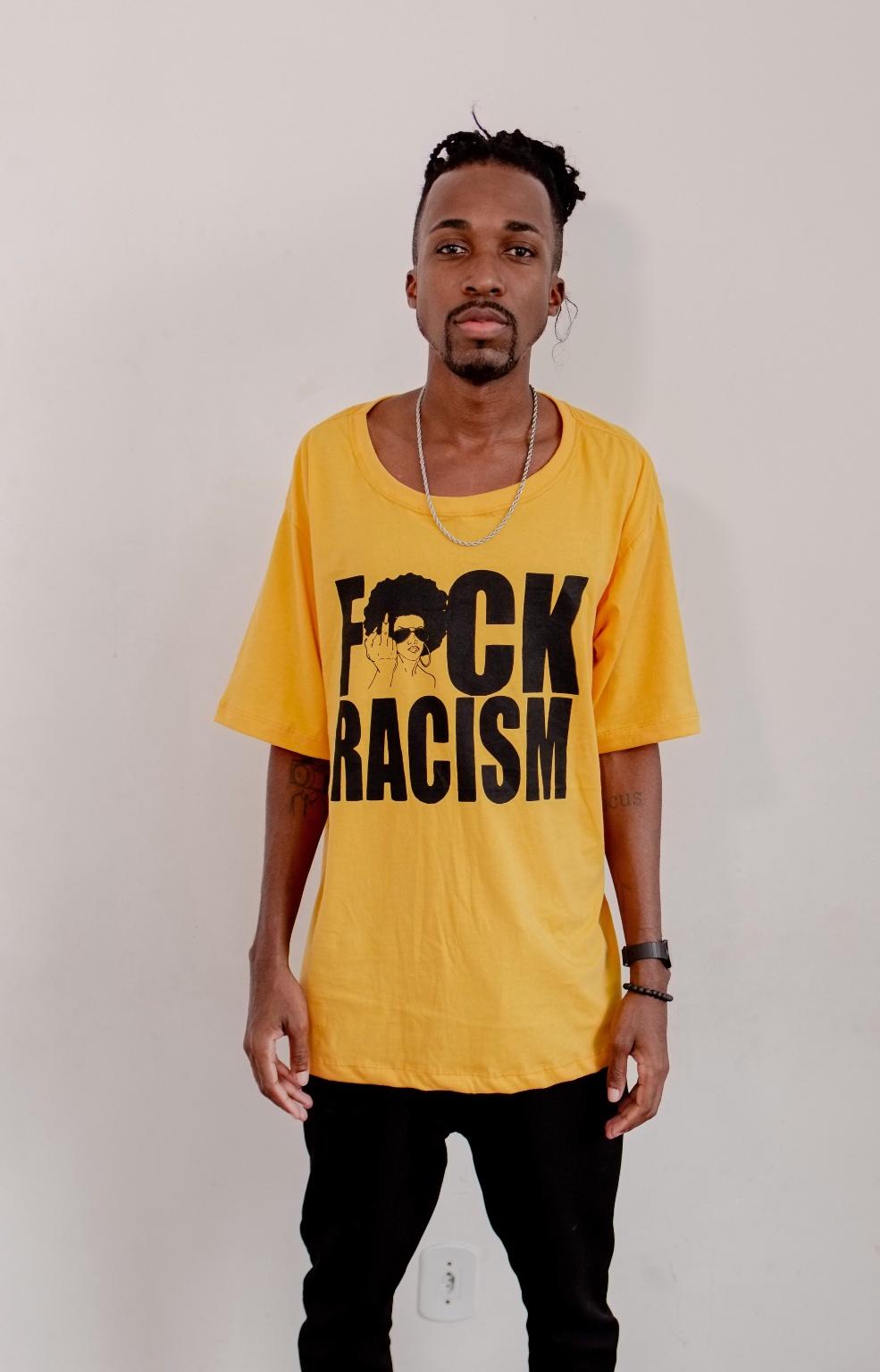 Devassas.com - T-Shirt F* Racism
