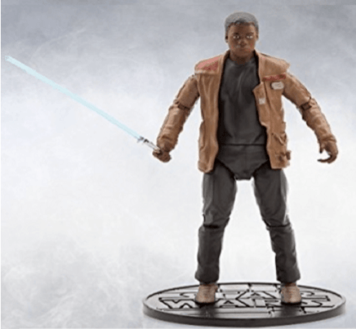 Finn com  Lightsaber - Star Wars Elite Series Die Cast Action