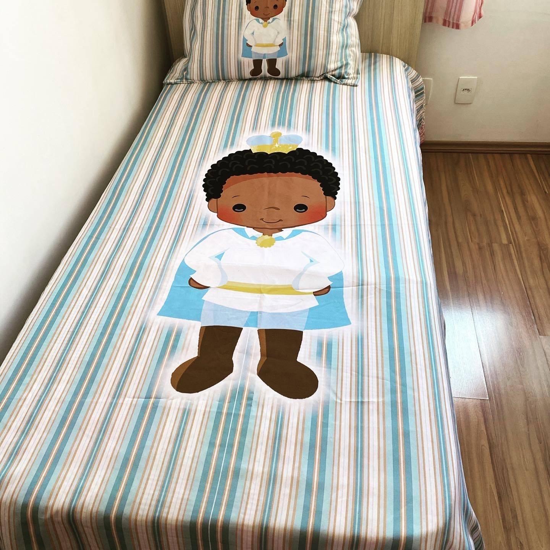 Jogo de cama Príncipe preto