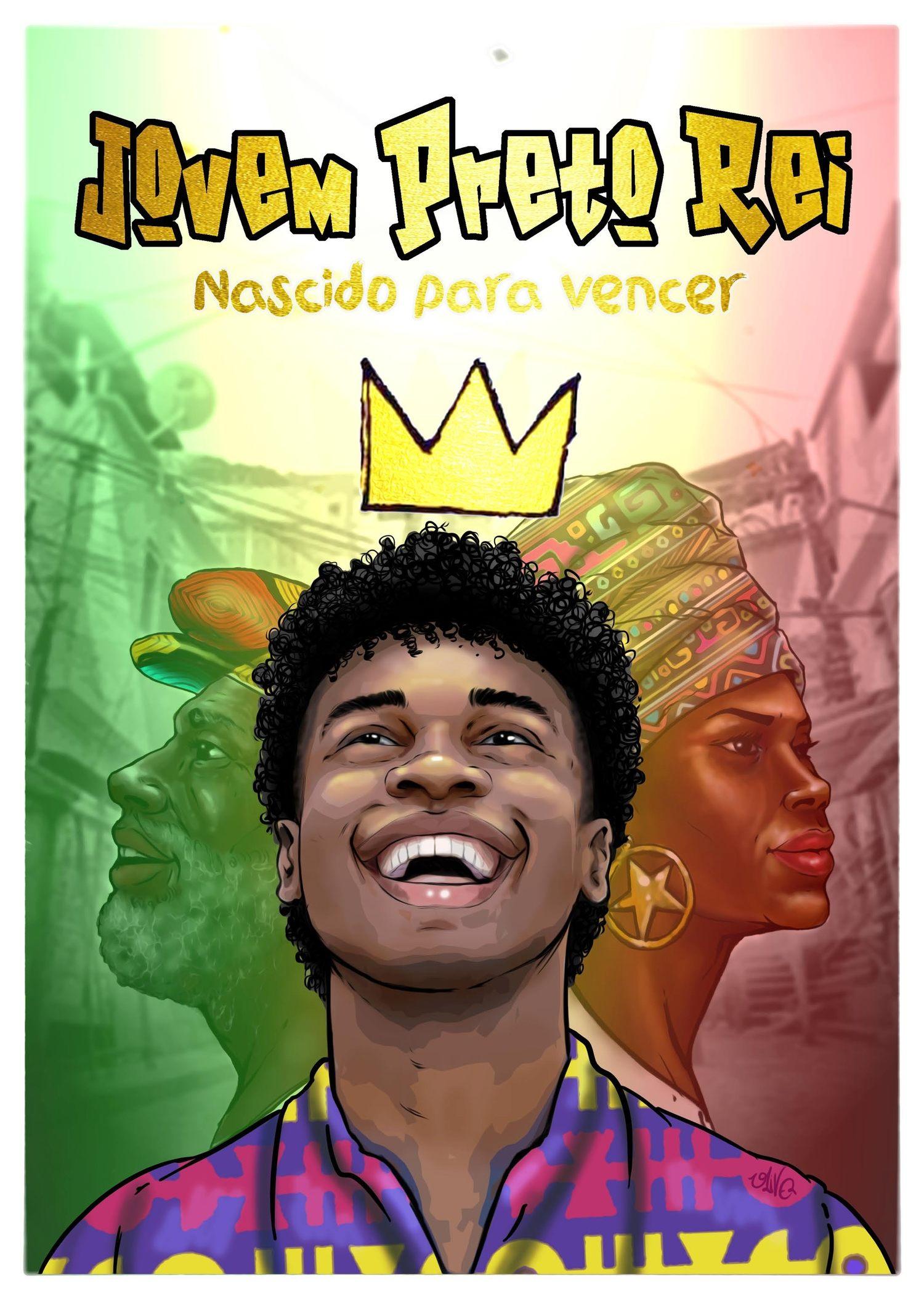 Jovem Preto Rei - nascido para vencer