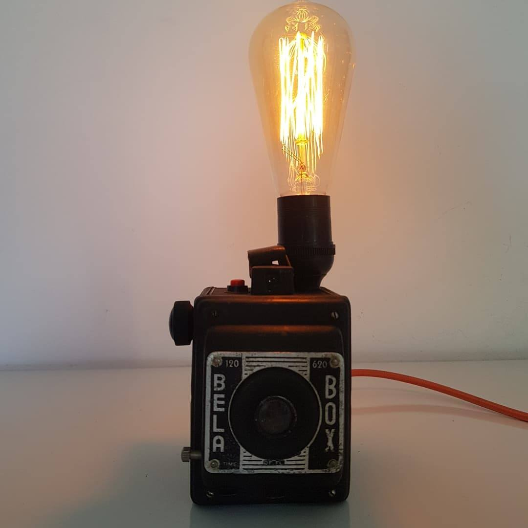Luminária Câmera BELABOX