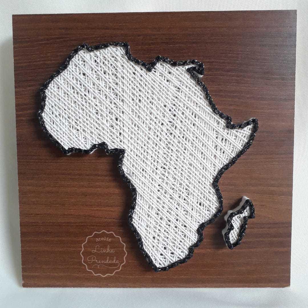 Mapa Continente Africano