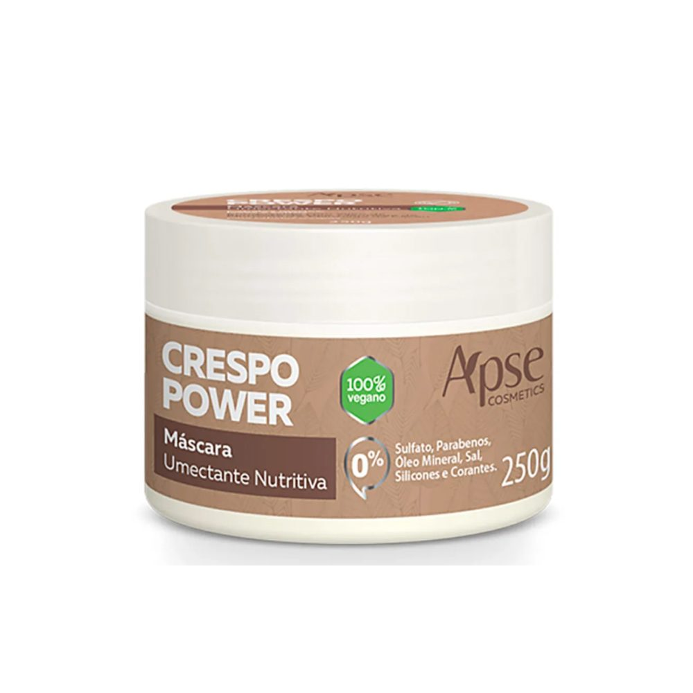 Máscara Nutritiva Vegan Protein Apse Cosmetics 250g