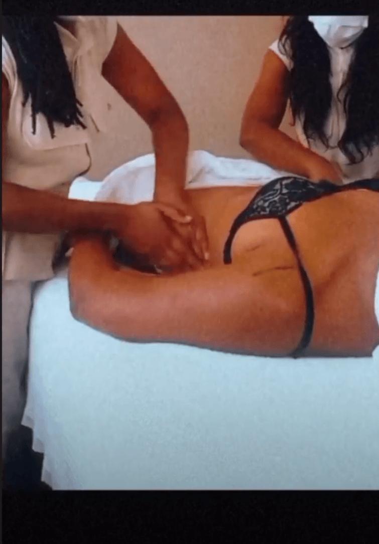 Massagem a quatro Gestare
