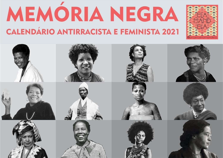Memória Negra Calendário 2021 - PDF