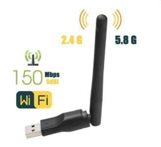 Mini Adaptador WiFi MT7601 External WLAN Sem Fio / Adaptador WiFi Dongle Rede Cartão USB / Receptor WiFi Ethernet / 150 M Usb Placa De Rede Sem Fio Wi 5.0