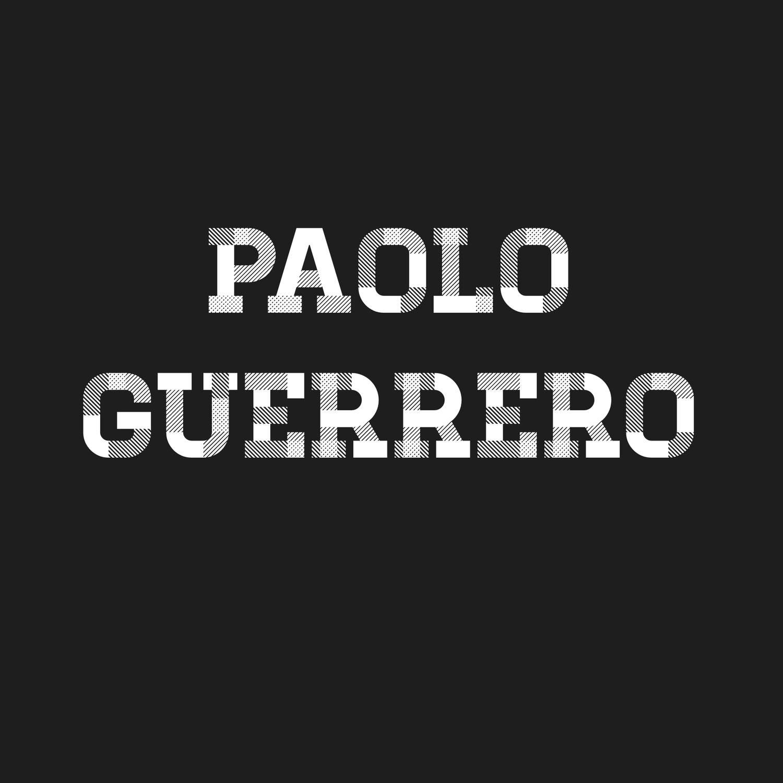 Mini Craque Boneco 3D Paolo Guerrero Corinthians