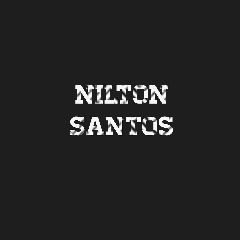Mini Craque Boneco Prostars Repintado Nilton Santos Botafogo