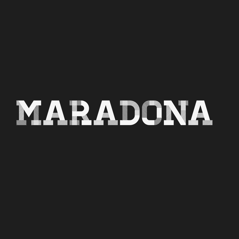 Mini Craque Prostars Boneco Maradona