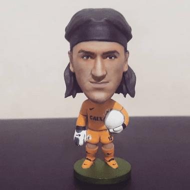 Minicraque Boneco 3D Cássio Corinthians