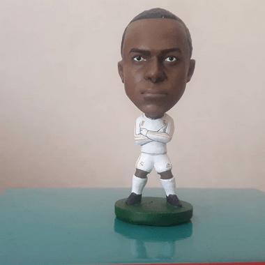 Minicraque Boneco 3D Kylian Mbappe Real Madrid