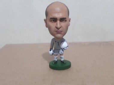 Minicraque Boneco 3D Marcos goleiro Brasil 2002