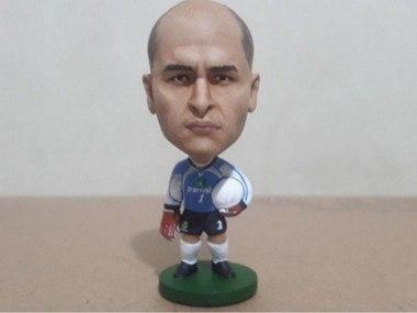 Minicraque Boneco 3D Marcos Palmeiras Libertadores da América 1999