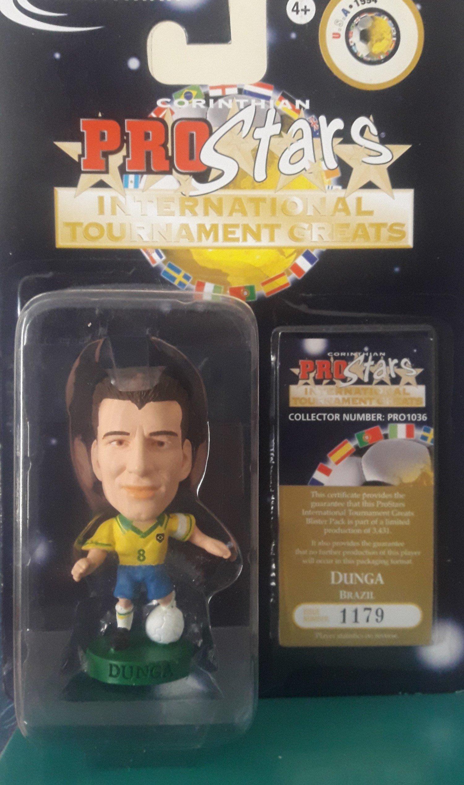 Minicraque Boneco Prostars Dunga seleção brasileira 1994