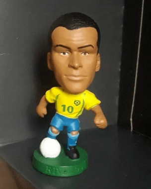 Minicraque Prostars Boneco Rivaldo Brasil