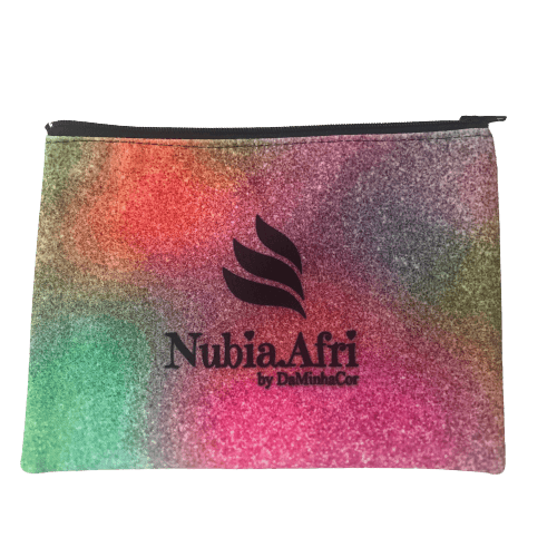 Necessaire Carteira para Maquiagem NubiaAfri by DaMinhaCor