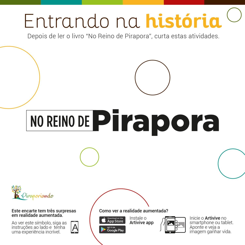 No Reino de Pirapora - Encarte de Atividades