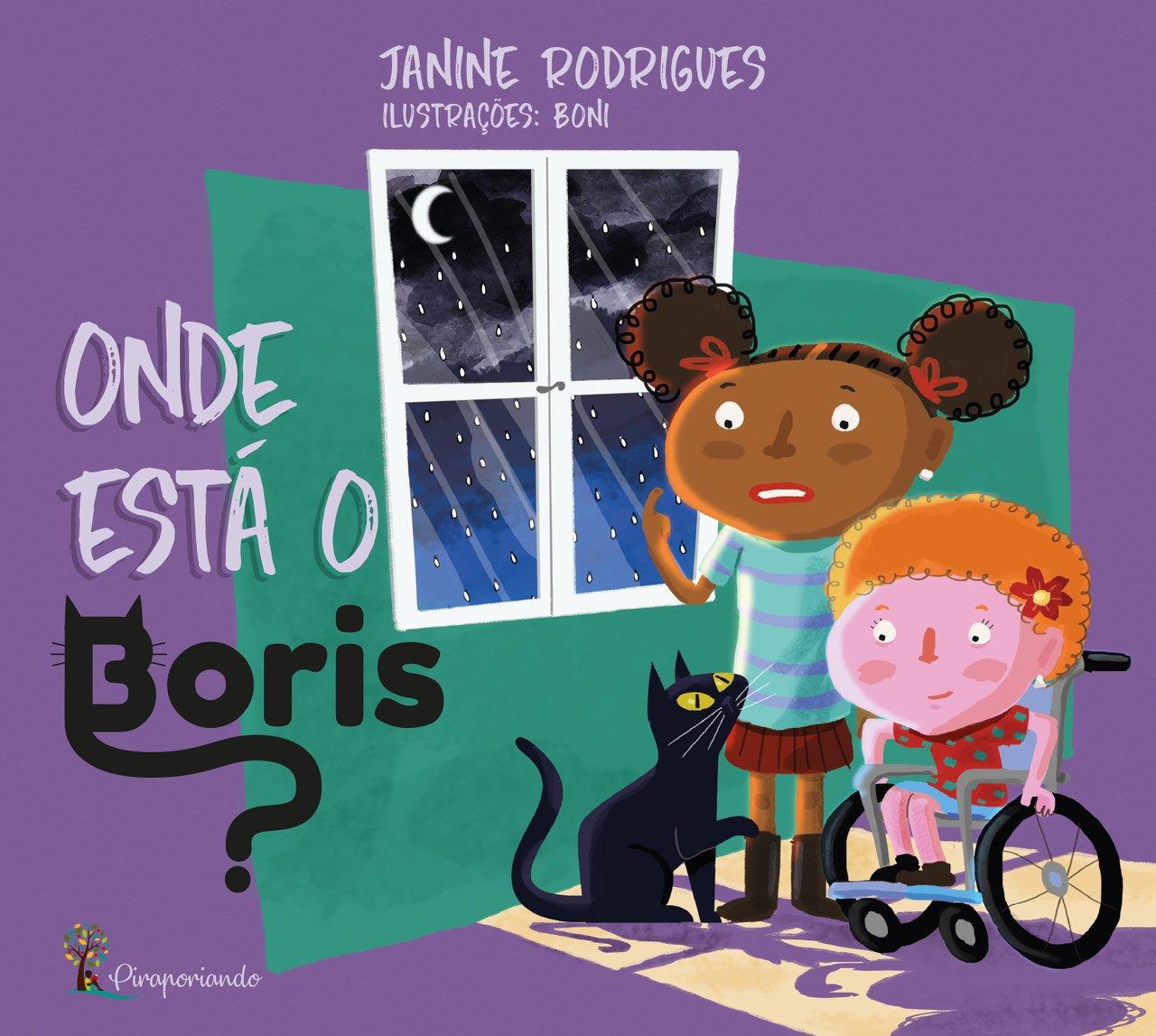 Onde Está o Boris? - Obra Literária + Encarte de Atividades