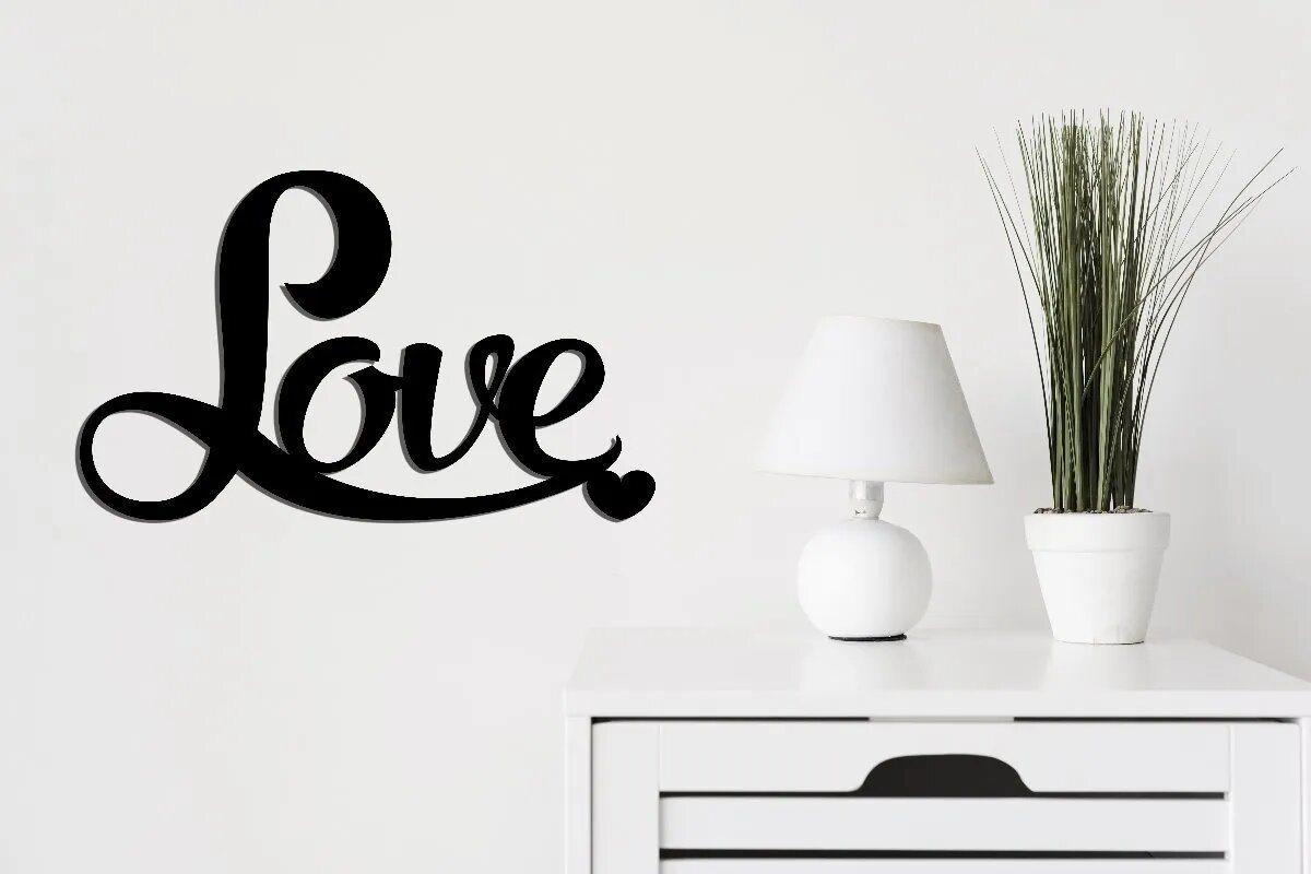 Palavra Em Mdf LOVE