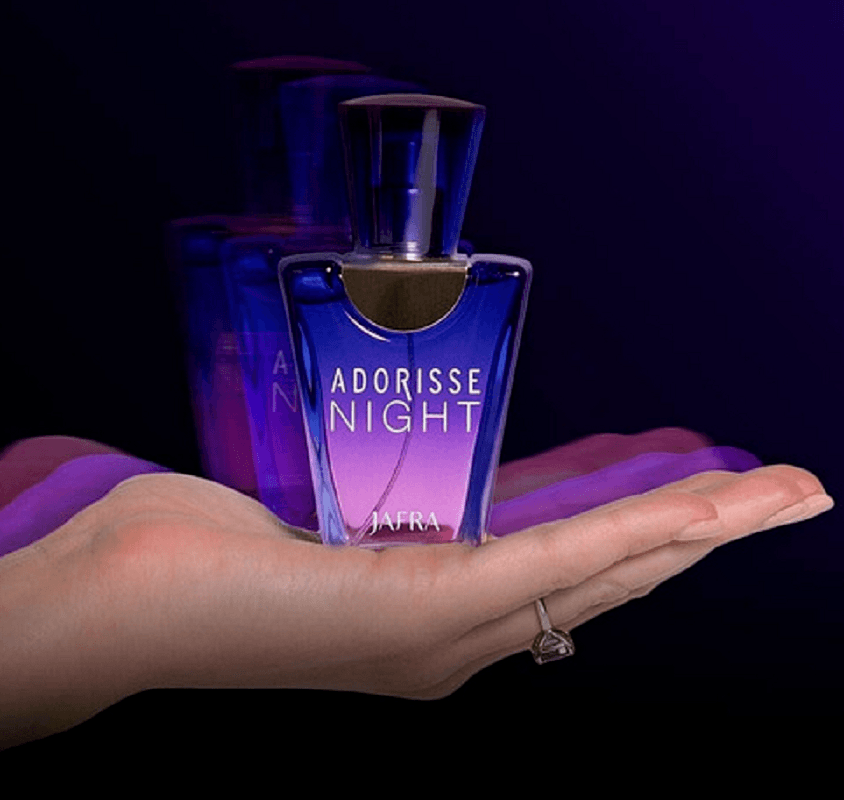 Perfume Importado Feminino Adorisse Night Oriental Sofisticado Original Jafra