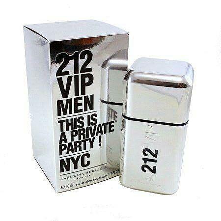 212 VIP Men Carolina Herrera Eau de Toilette - Perfume Masculino 100ml