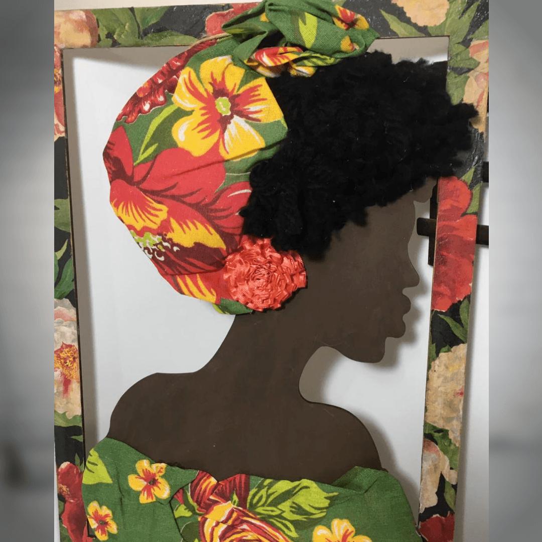 Quadro Mulher Afro