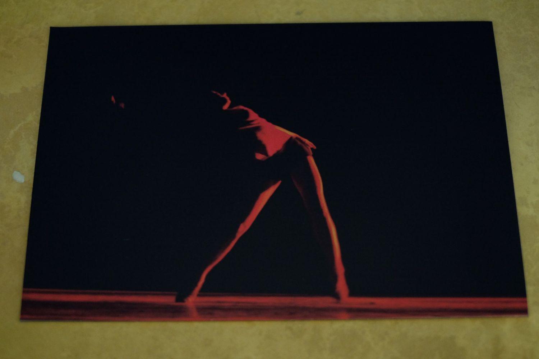 Quadro Sombra em Vermelho
