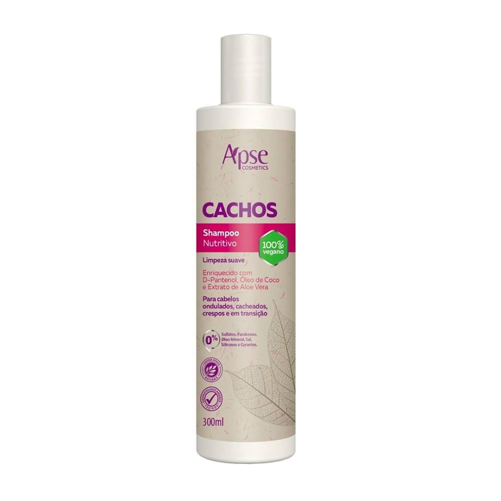 Shampoo Cachos Apse Cosmetics 300mL