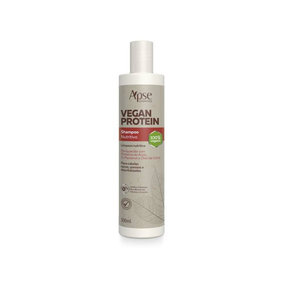 Shampoo Vegan Protein Apse Cosmetics 300mL