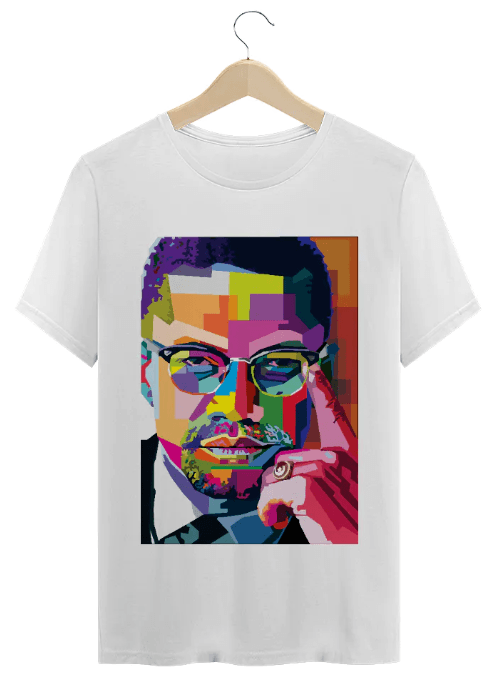 T-Shirt Periferia Resiste - Malcolm Color