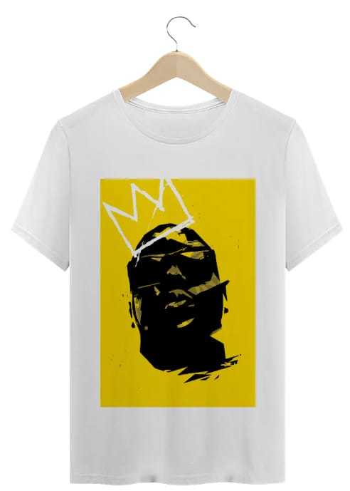 T-Shirt Periferia Resiste - Notorius B.I.G Quadro