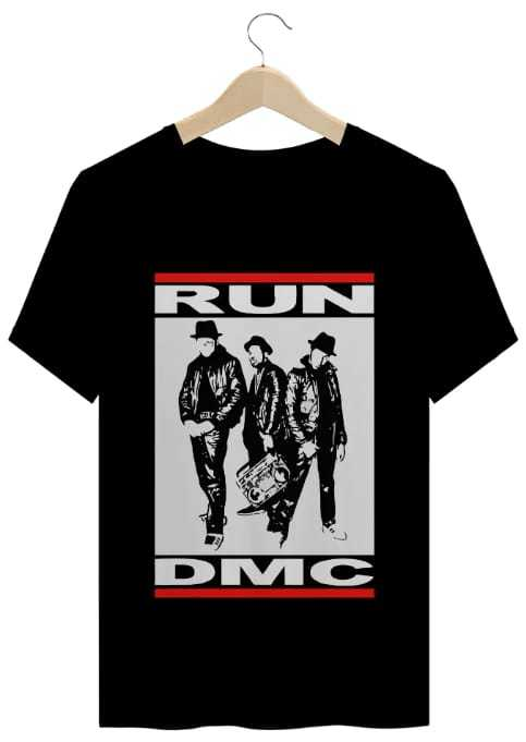 T-Shirt Periferia Resiste - RUN DMC one