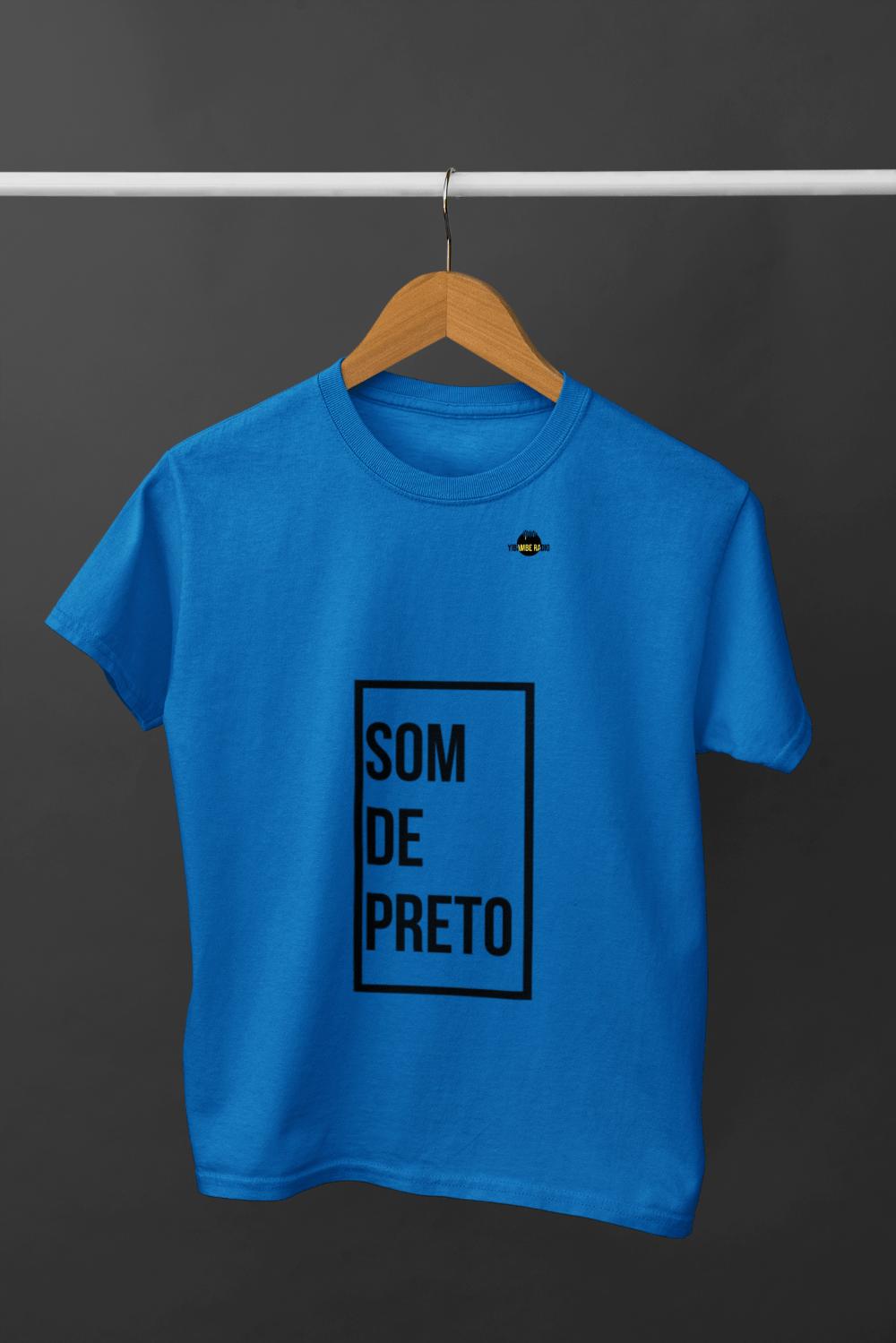 T Shirt Som de Preto