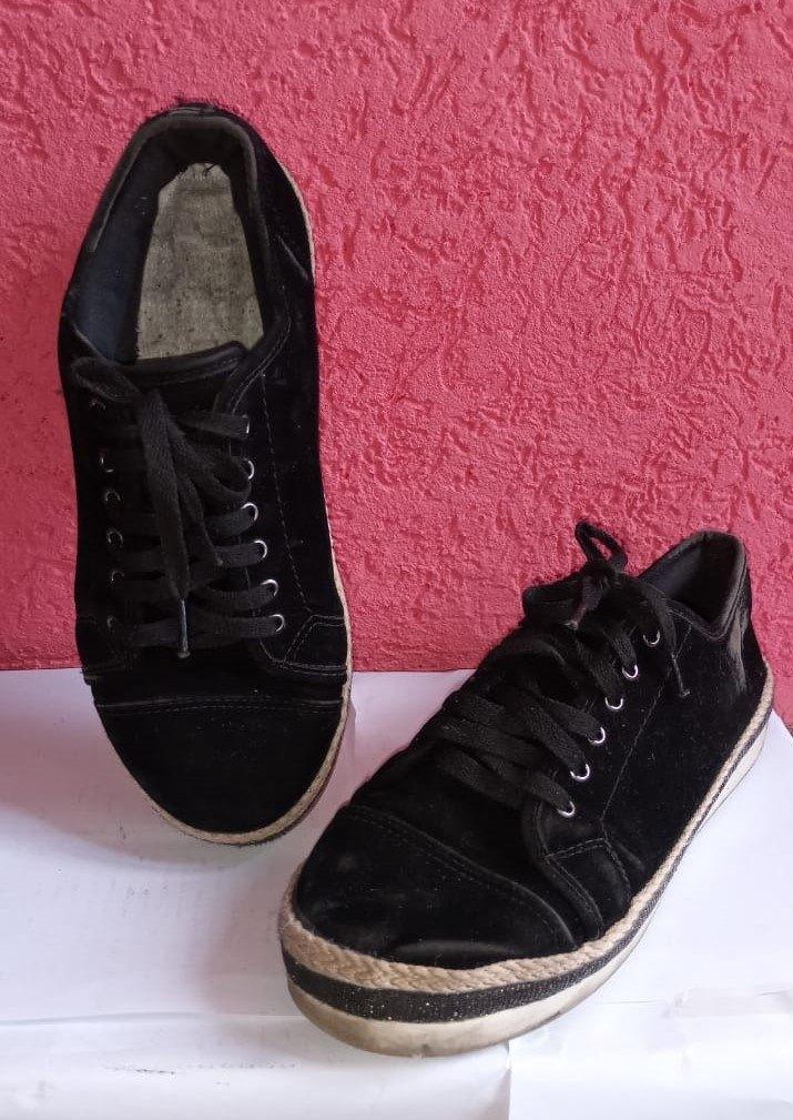 Tênis Alto preto