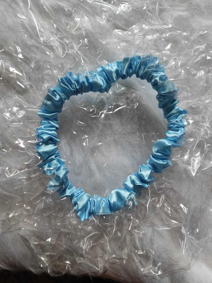 Touca de banho azul claro Ayoola