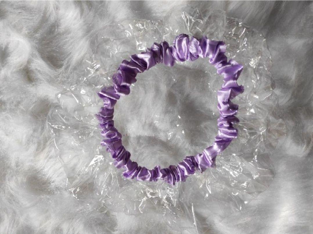 Touca de banho lilás Ayoola