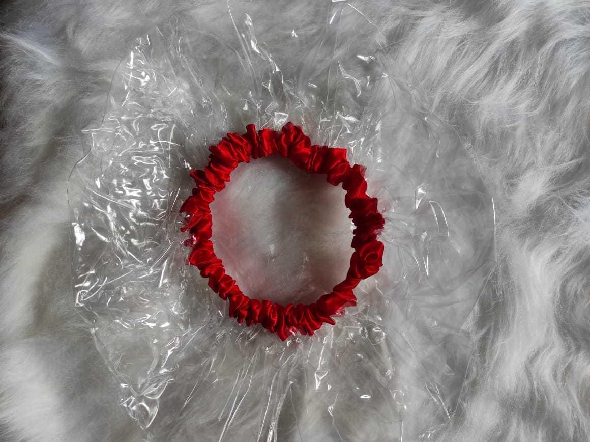 Touca de banho vermelha Ayoola