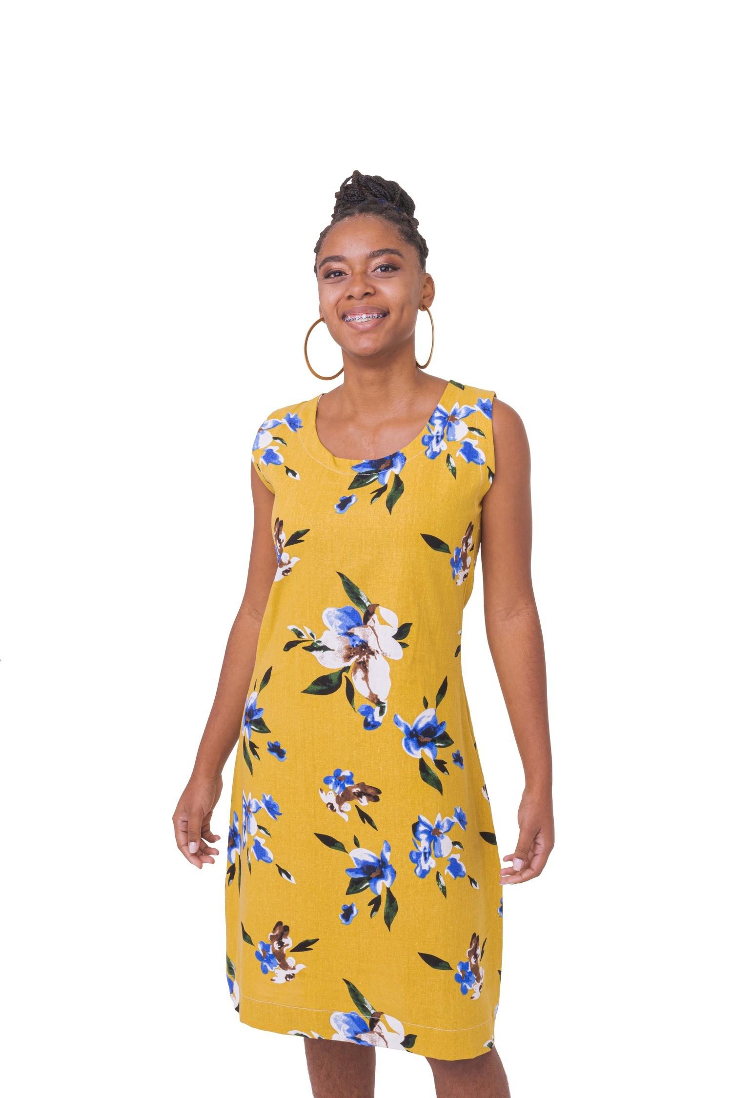 Vestido Afro Linho