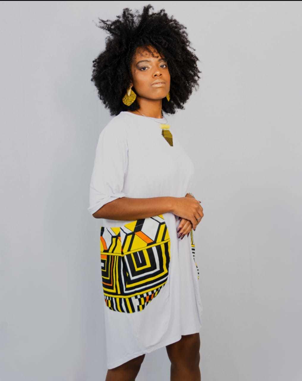 Vestido Bolsão Afro