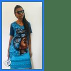 Vestido Elastano Estampa Afro